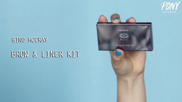Gino Mc Cray Brow & Liner Kit