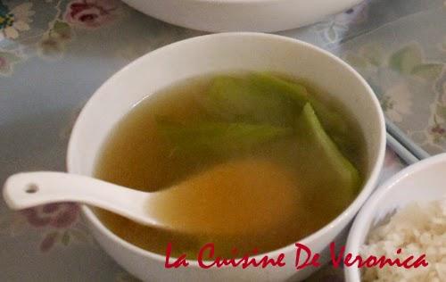 La Cuisine De Veronica 芥菜肉片湯