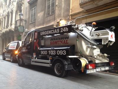 Desatascos Komunal en Mataró