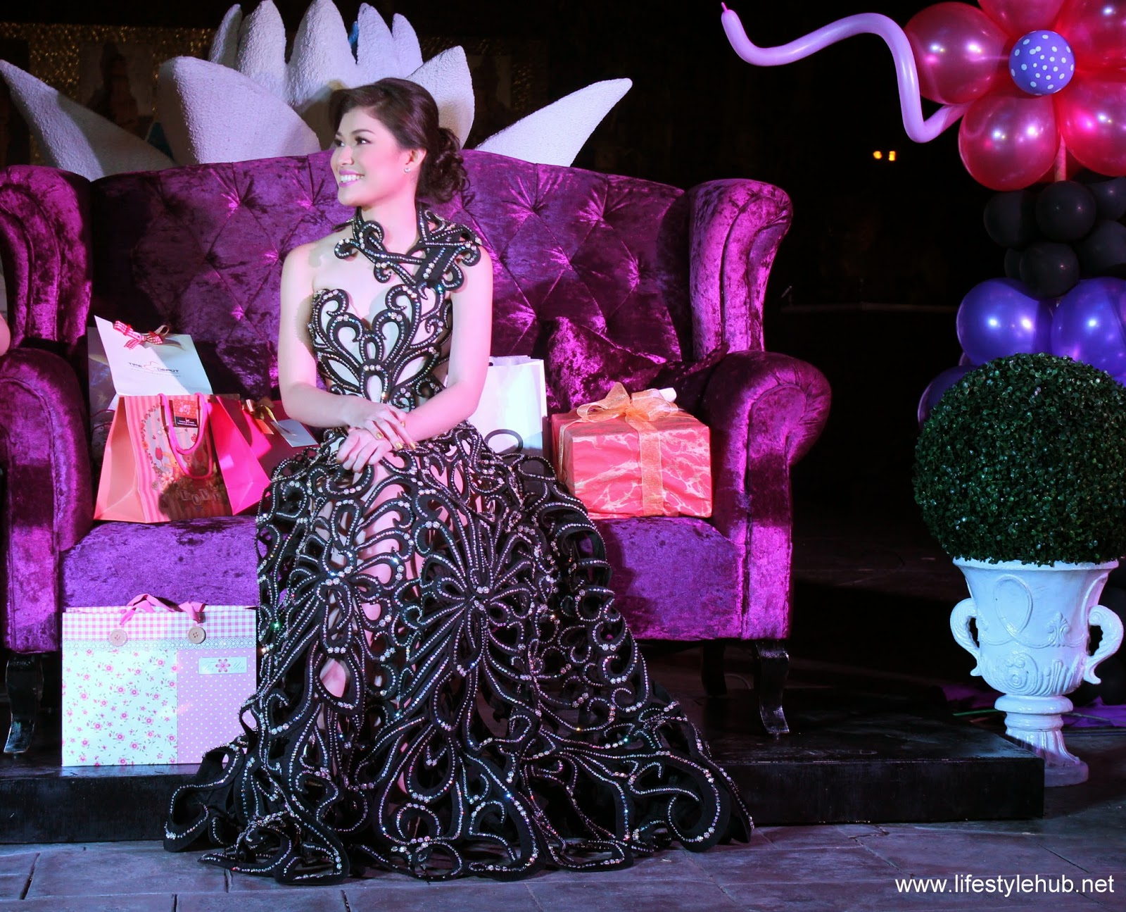 thea tolentino 18th birthday, debut