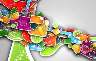 Colors Abstract Art HD Wallpaper