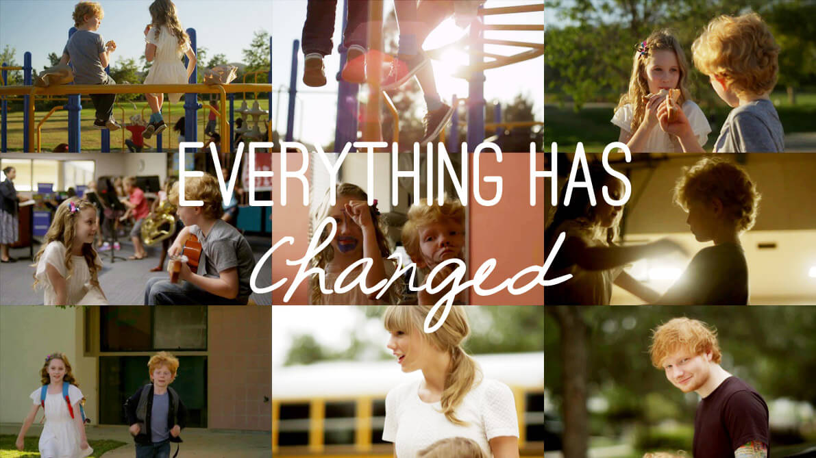 Everything Has Changed Guitar Chords Taylor Swift Red