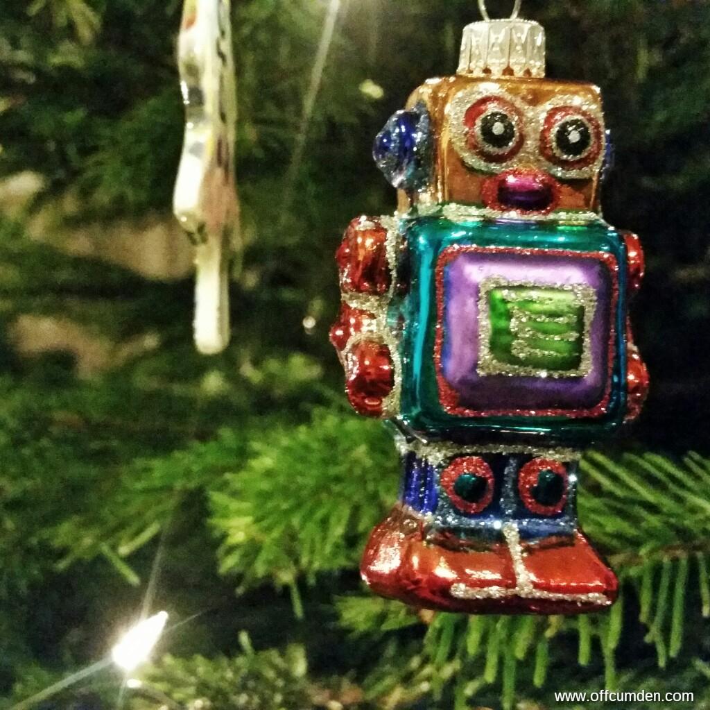 robot Christmas decoration