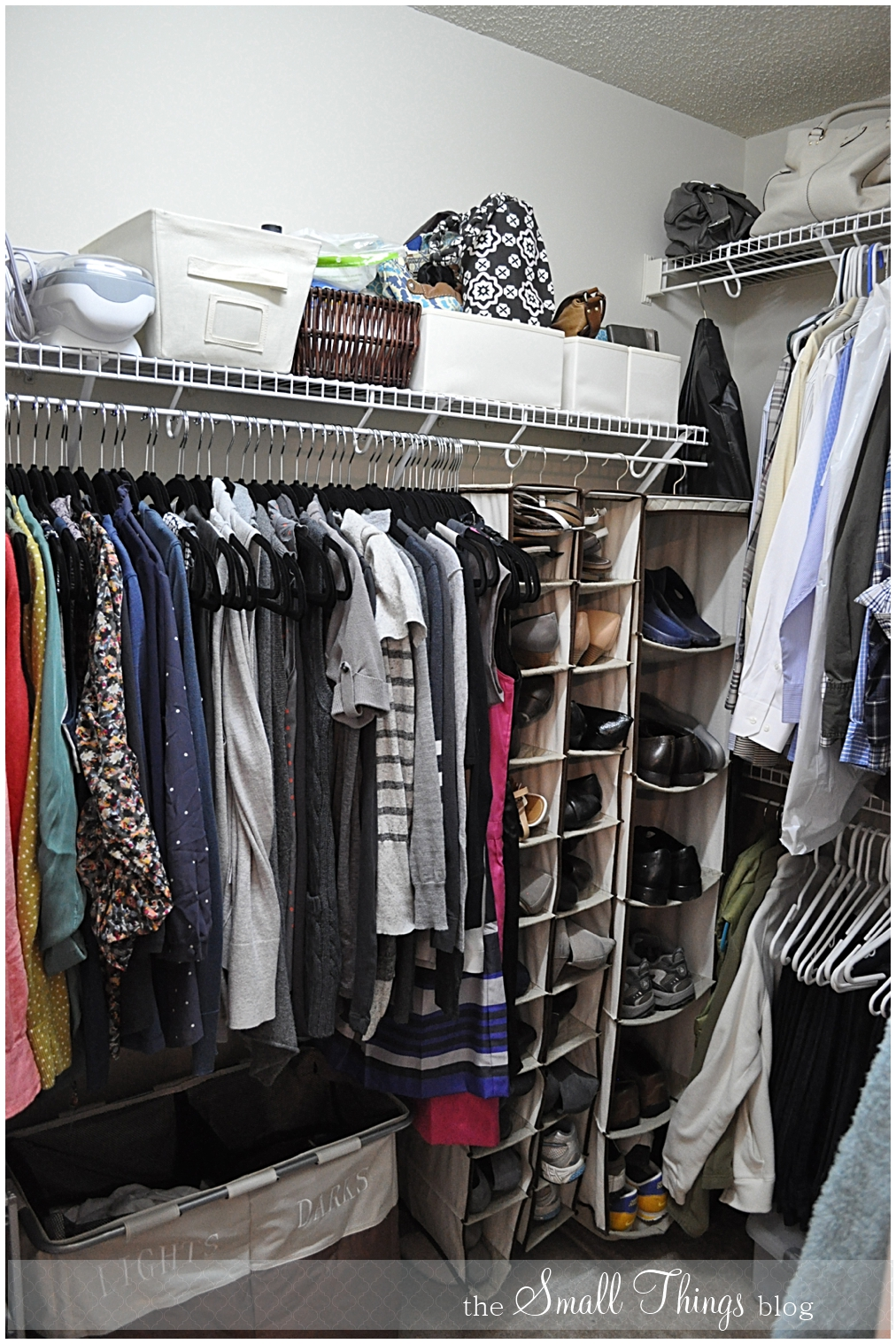 My Closet Makeover The Small Things Blog