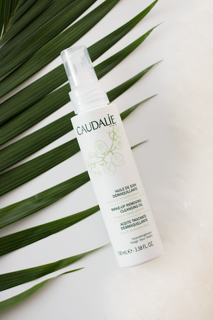 Try this: Caudalie Make-Up Removing Cleansing Oil