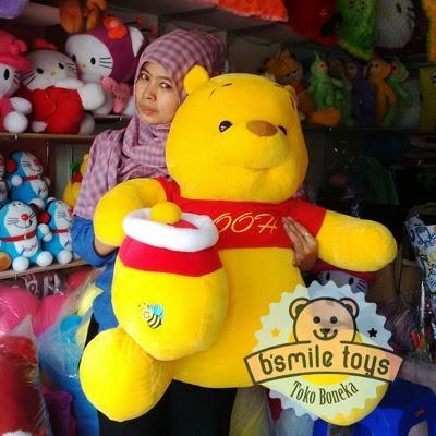jual boneka winnie the pooh besar
