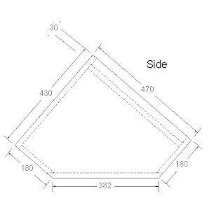 Ukuran Box Stage Monitor 15 inch