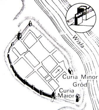 Obwarowania Warszawy z końca XIV wieku