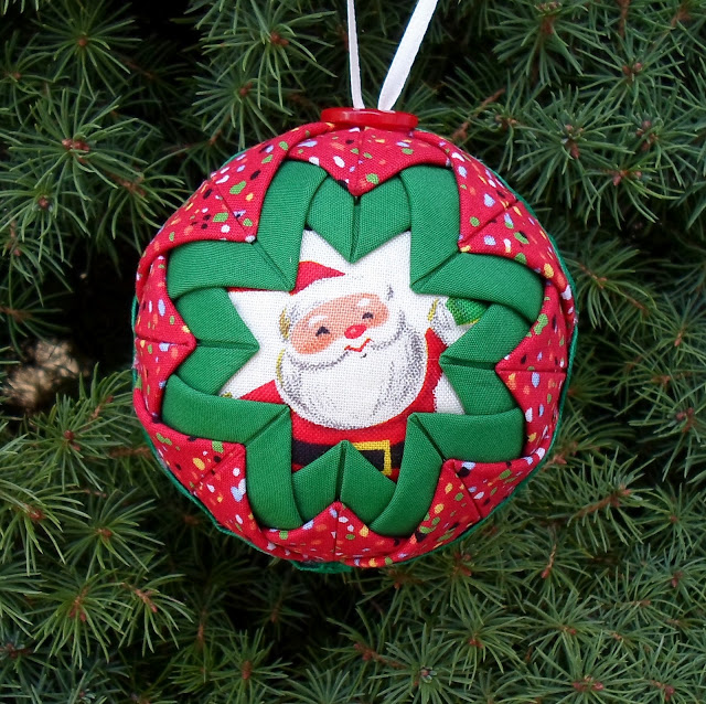 Happier Than A Pig In Mud: Quilted Team Christmas Ornaments