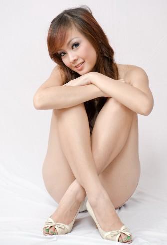 Foto Model Mulus Seksi Dengan Pakaian Mini