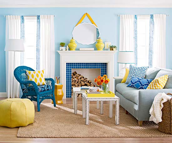 Decorating Design Ideas 2012 With Blue Color Modern