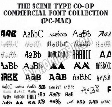 Font Collection (65,000 Fonts) Full Version 8