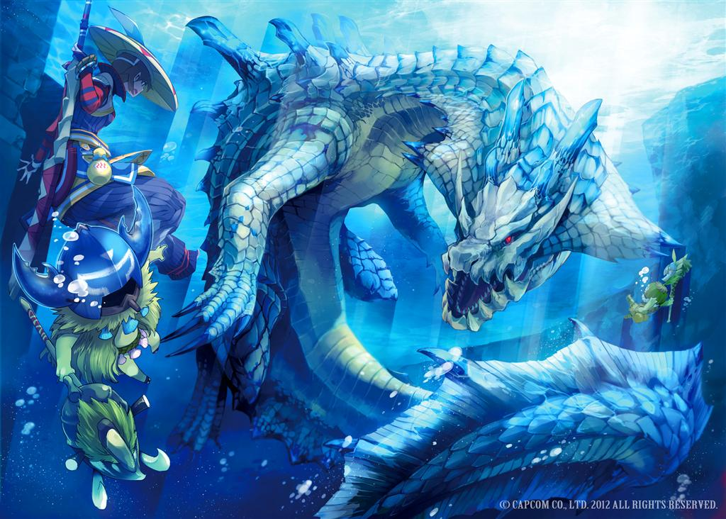 Monster Hunter HD & Widescreen Wallpaper 0.132890139059052