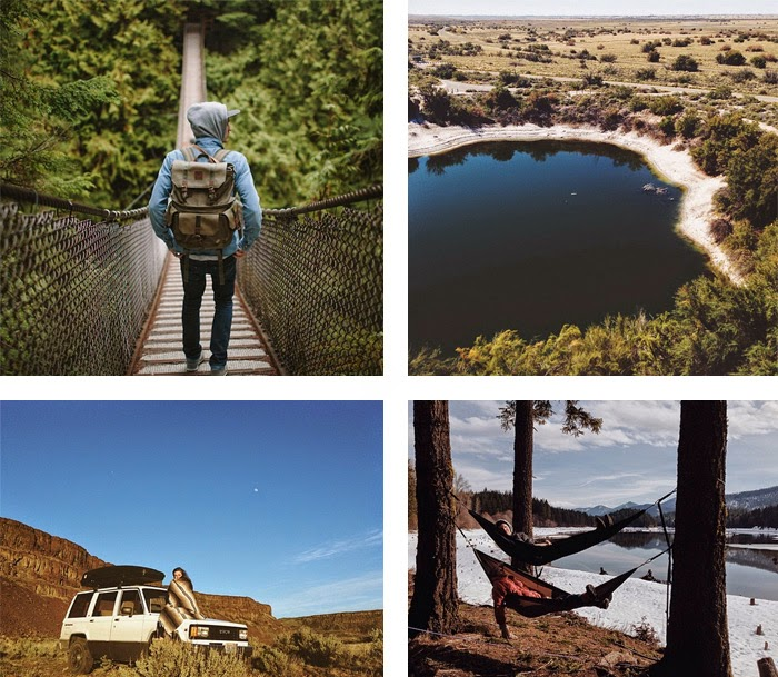 Favourite Instagram Accounts to Follow for Adventure from the blog Melody Mackereth and the Glorious Bandits: @cameracaleb
