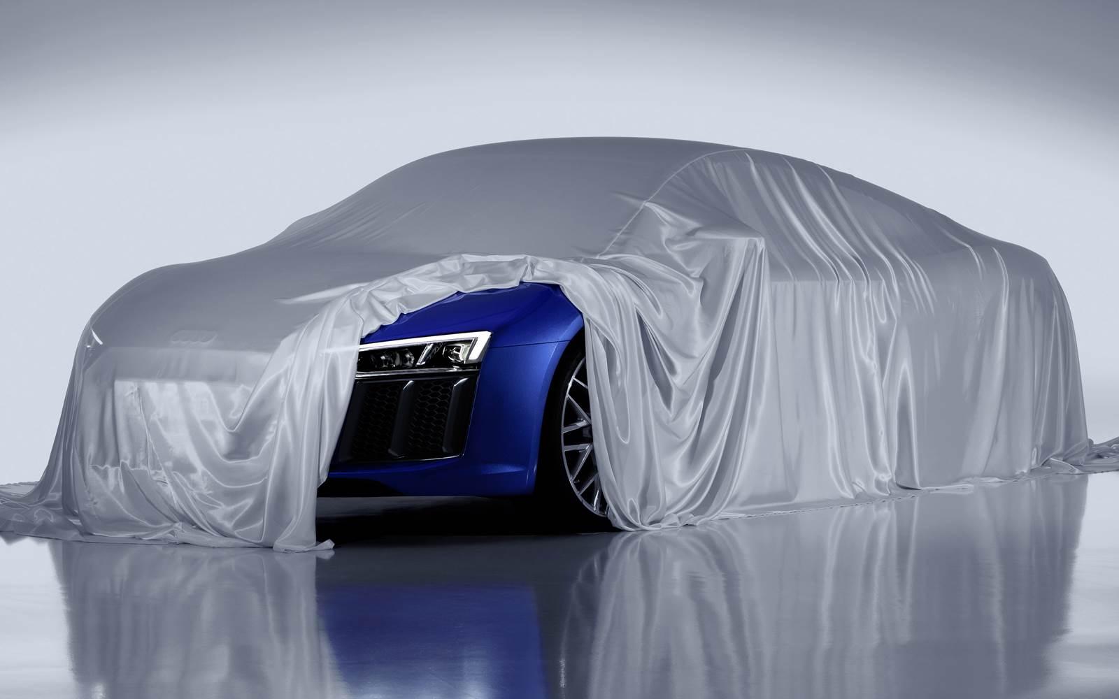 Novo Audi R8 2016