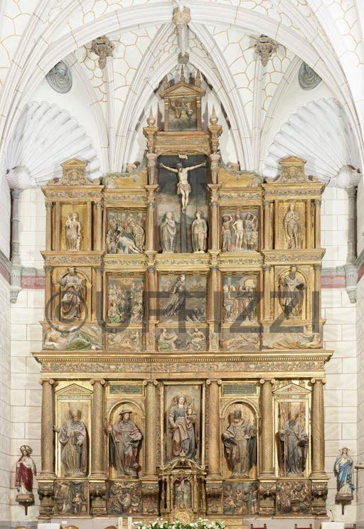 Restauración del retablo Mayor de la iglesia de María Magdalena. Matapozuelos (Valladolid)