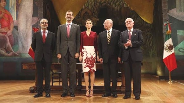 Queen Letizia And King Felipe Visited The Universidad Nacional, UNAM