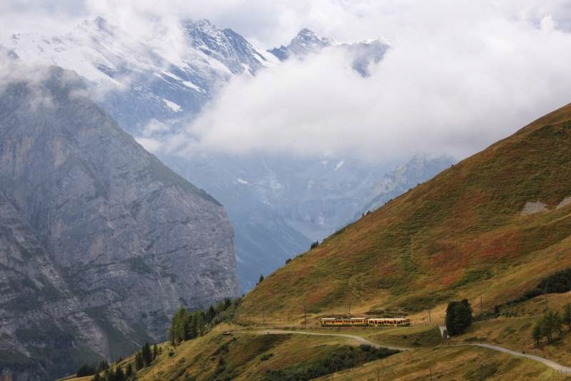 Jungfrau Railway | The Highest Mountain Railway Station in Europe