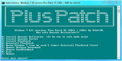 novo ativador para Windows 7 Activator 5 2011