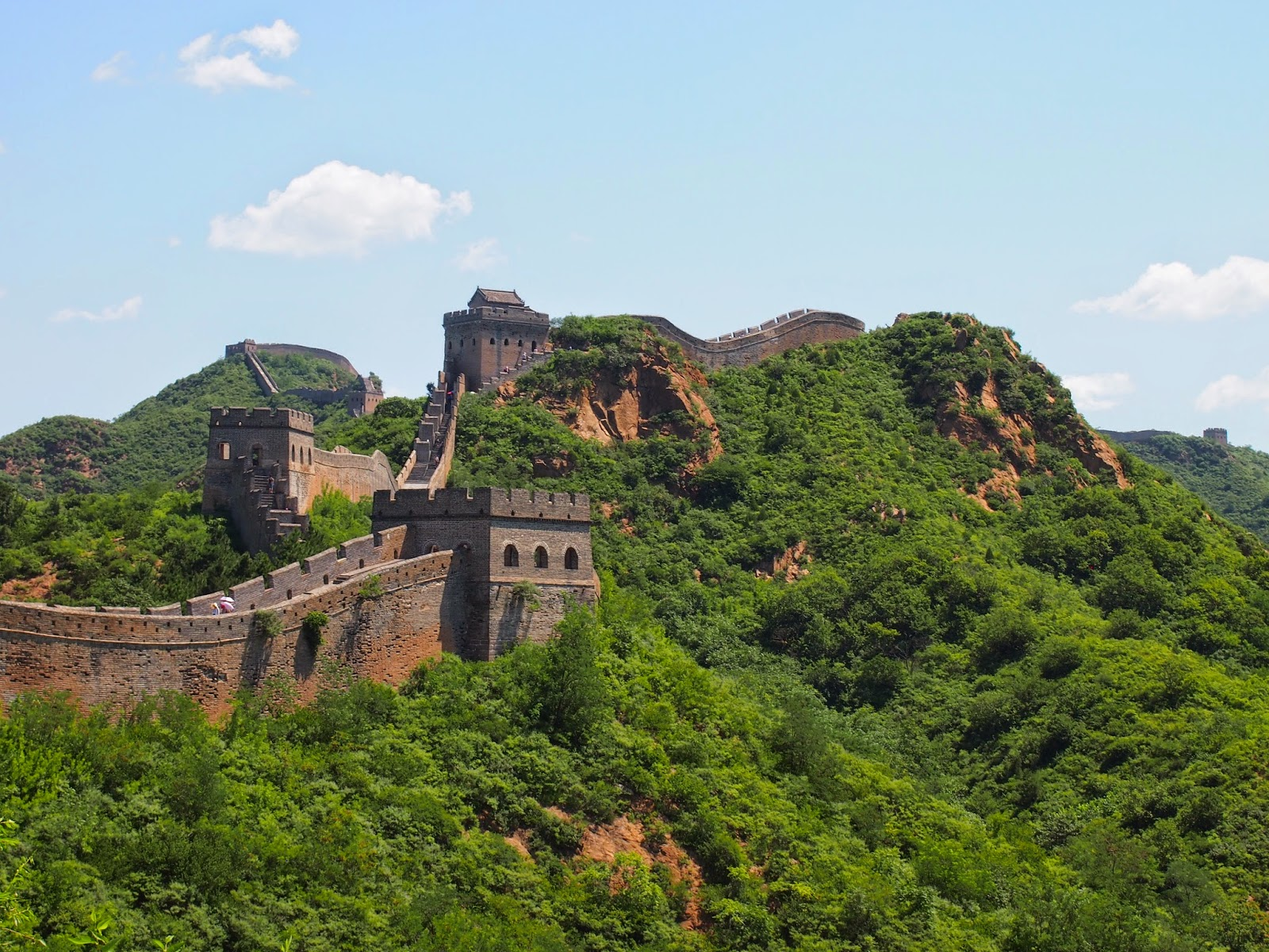 defense buildings of the Great Wall of China