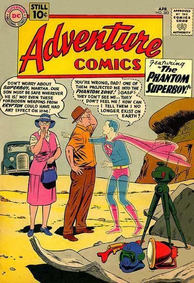 Adventure Comics #283 comic book