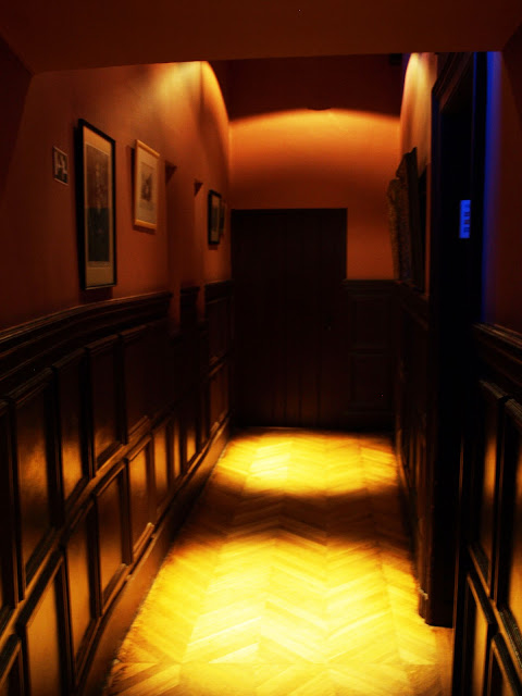 upstairs castle corridor