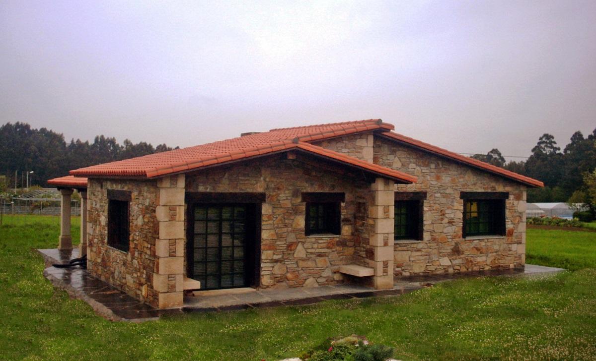 Construcciones r sticas gallegas casa en naron - Piedras para fachadas de casas rusticas ...