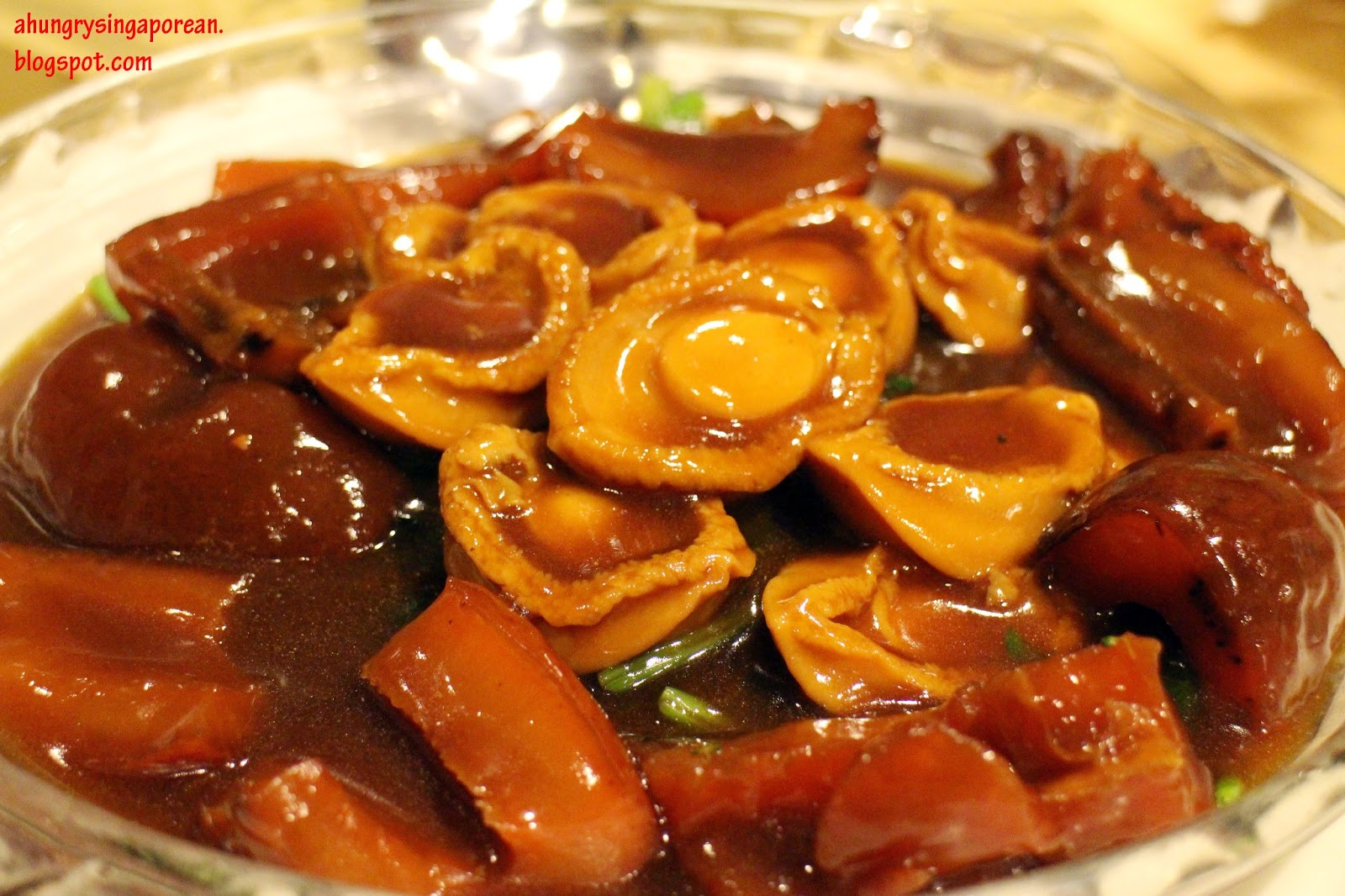sea cucumbers with braised abalone with sea braised sea cucumber ...