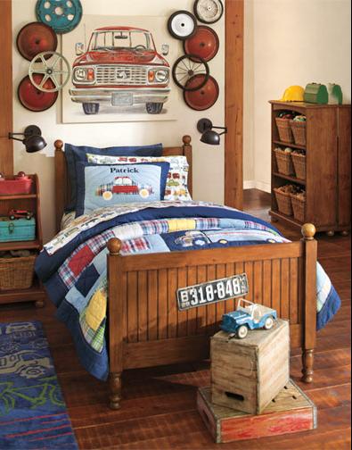 10 ideias de decora o para quartos de menino mil for Vintage childrens room decor