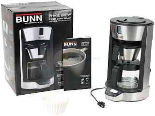 Bunn Coffee Maker Under Cabinet : kitchen appliance packages: Reviews about BUNN HG Phase Brew 8-Cup Home Coffee Brewer