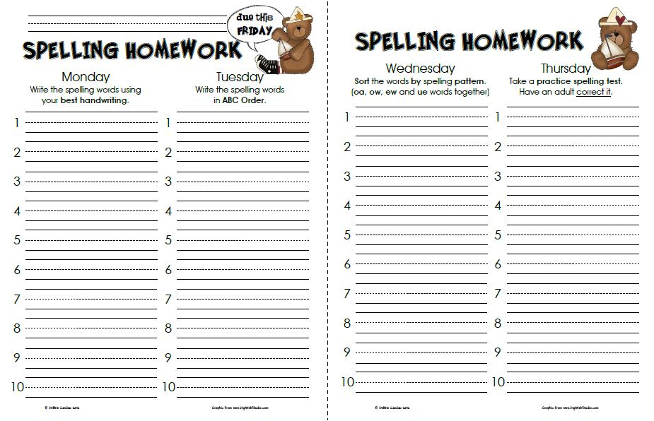 Sailing Through 1st Grade: More Spelling Papers
