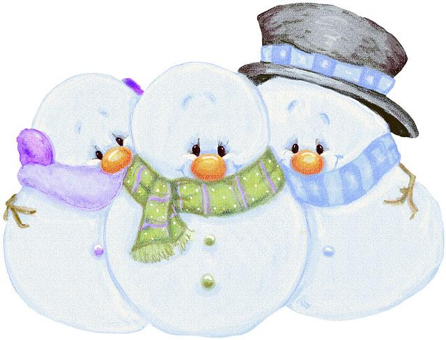 Munecos de nieve para imprimir - Imagenes y dibujos para imprimir-Todo ...