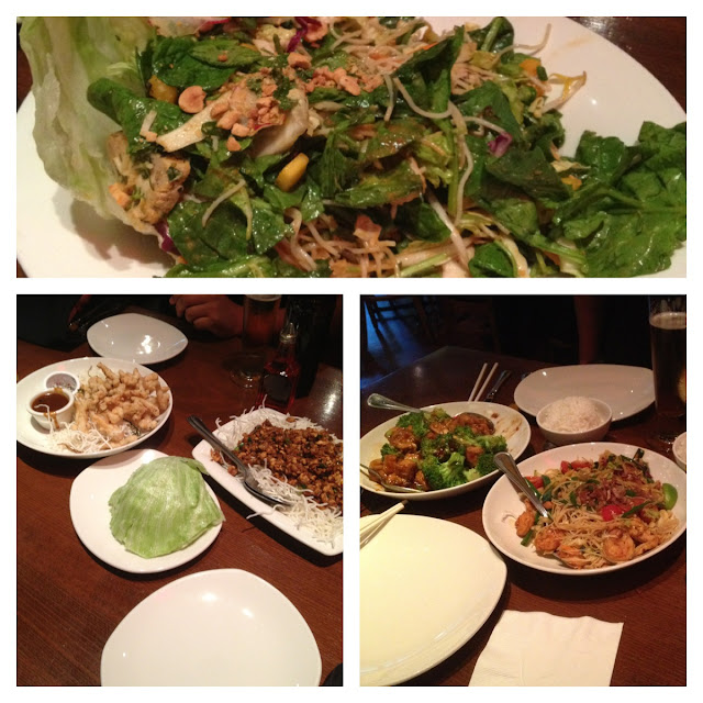 P.F. Chang dinner, Lettuce wraps, Chinese food, Good eats, Portland, tourism, visiting, traveling, instagram