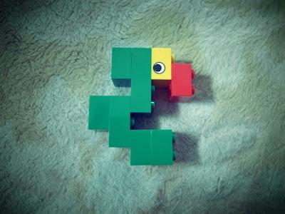 レゴフォント オウム