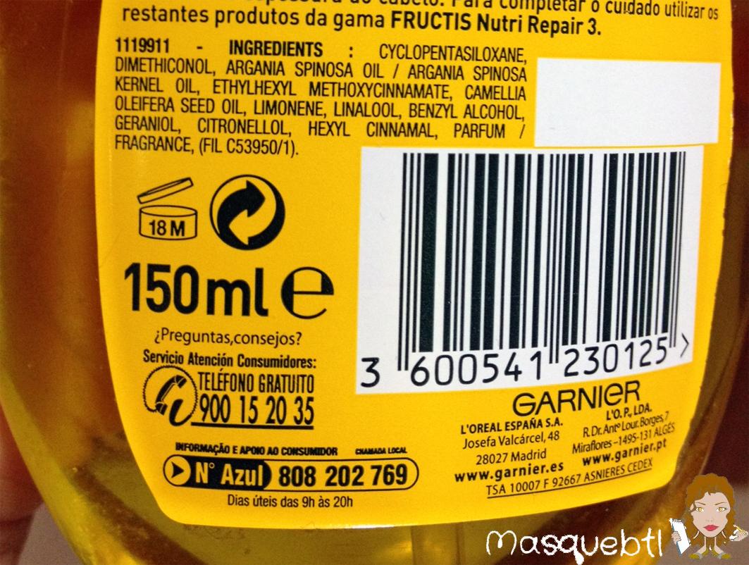 El envase, muy manejable en un tono amarillo, contiene 150 ml. que cunden mucho, ya que no hay que aplicar gran cantidad de producto. El aroma del producto,
