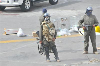 Tentera menyerang hospital di Bahrain