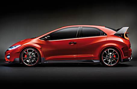 2017 honda civic type r review design auto honda rumors. Black Bedroom Furniture Sets. Home Design Ideas