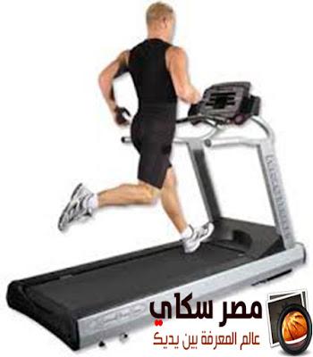 أهمية التمرين على جهاز المشى Exercise on the treadmill