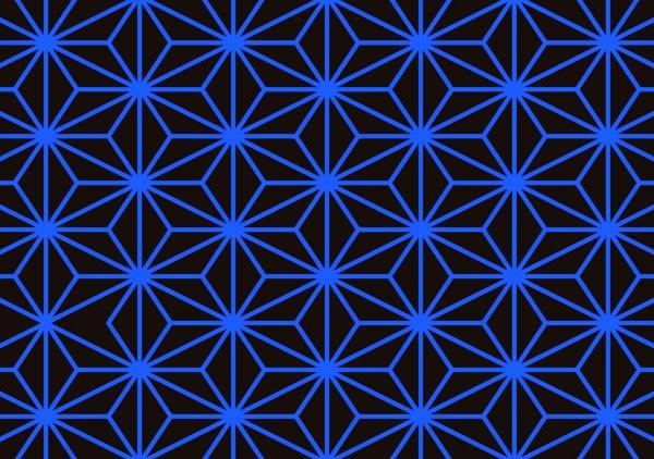 sashiko pattern, asanoha sashiko, asanoha pattern, japanese patterns, japanese motifs,