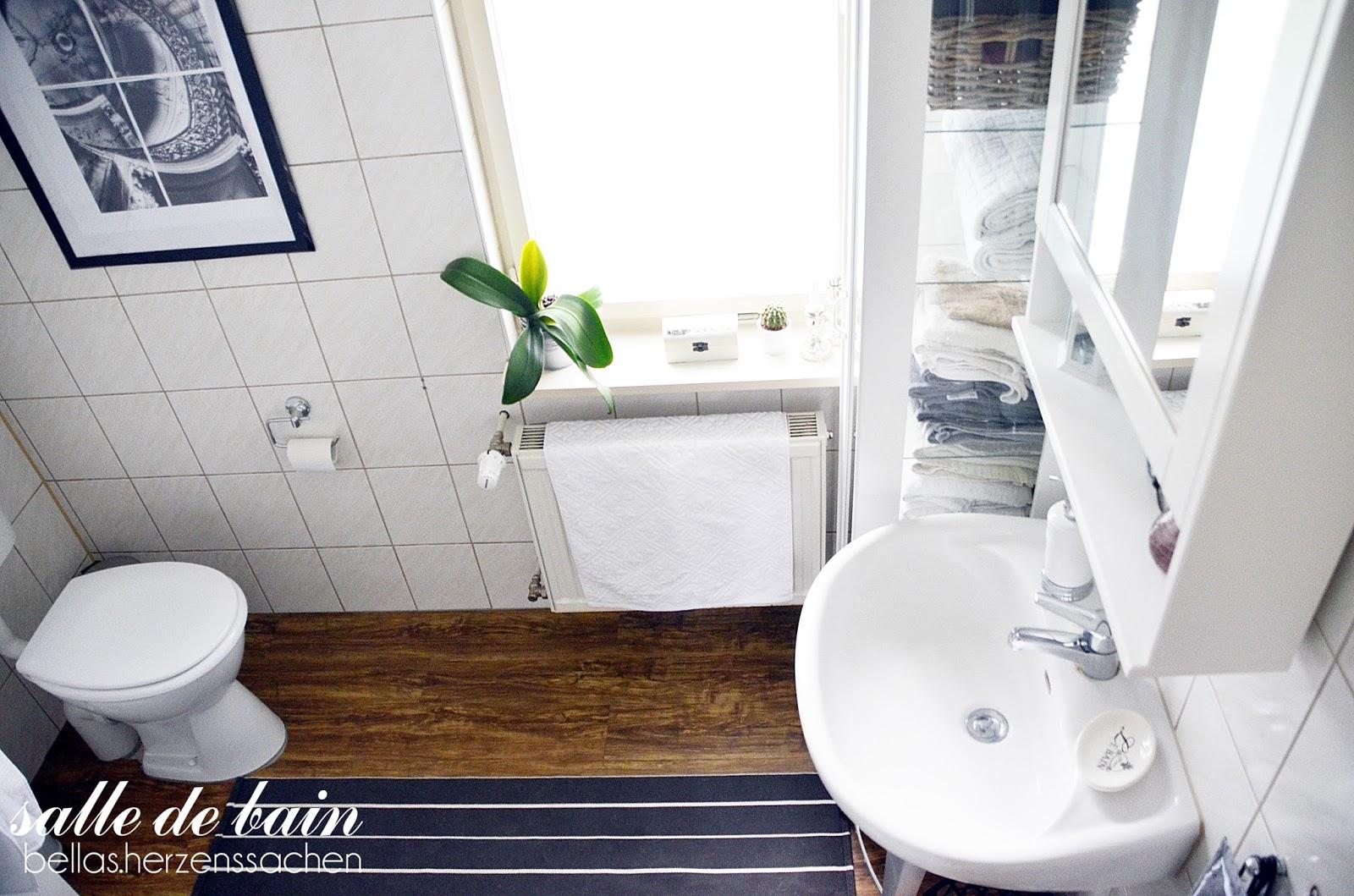 Bellas.HerzensSachen: unser Bad - salle de bain