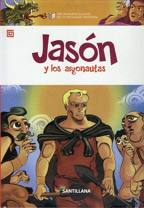 Jasón y los Argonautas -  Edit. Santillana
