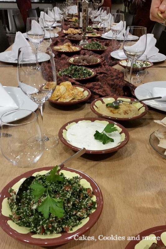 Libanesische Mezze