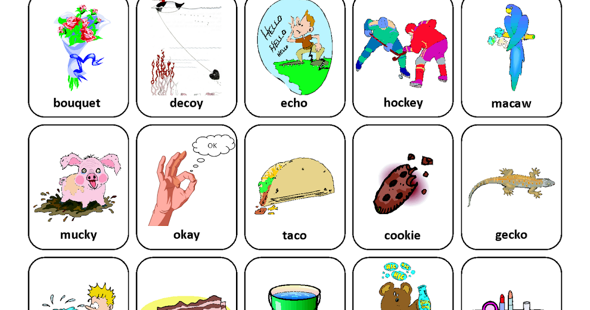 Testy yet trying: Medial K: Free Speech Therapy Articulation Picture ...