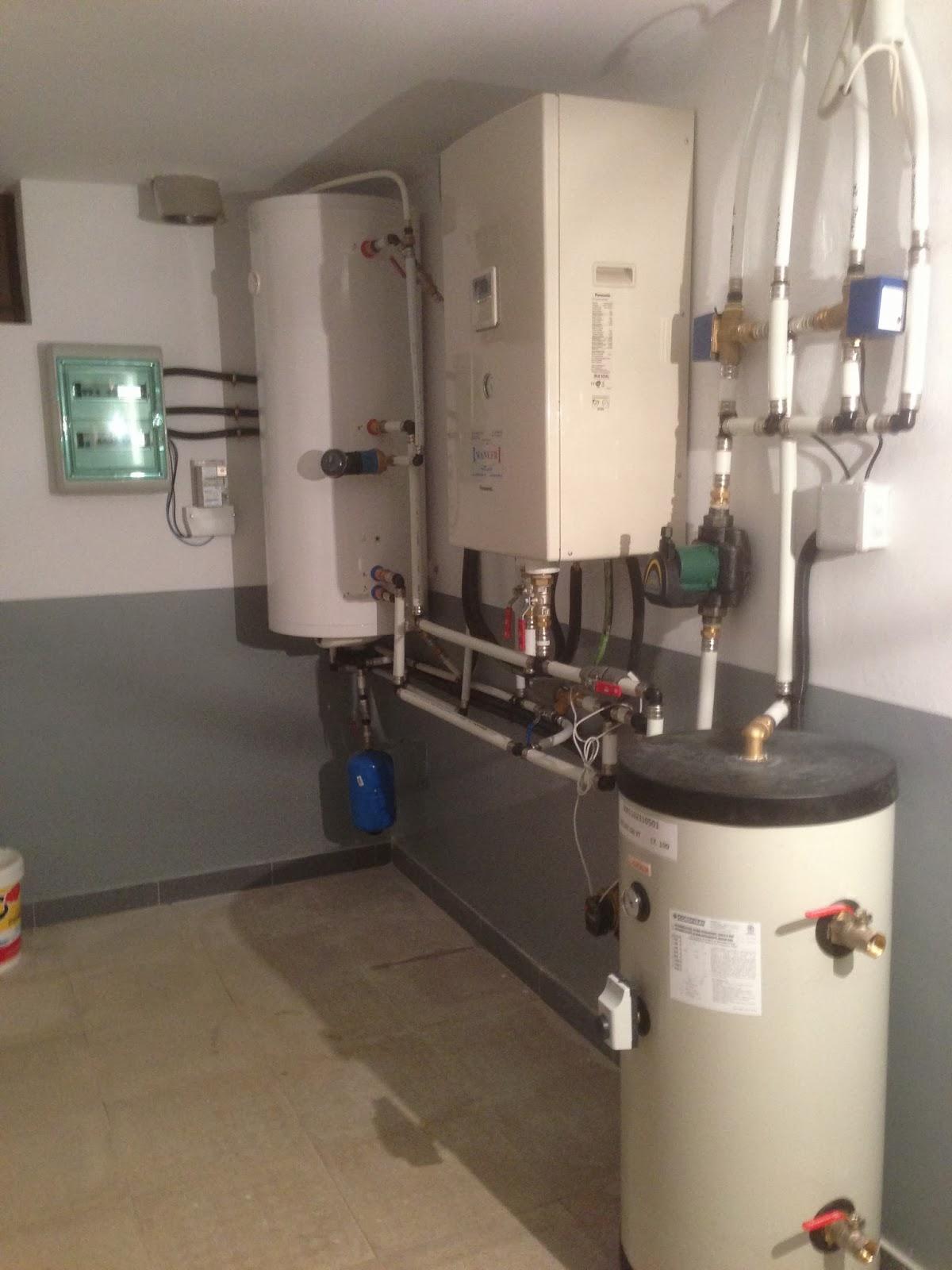 Climatizaci n aerotermia geotermia y renovables para for Calefaccion bomba de calor radiadores