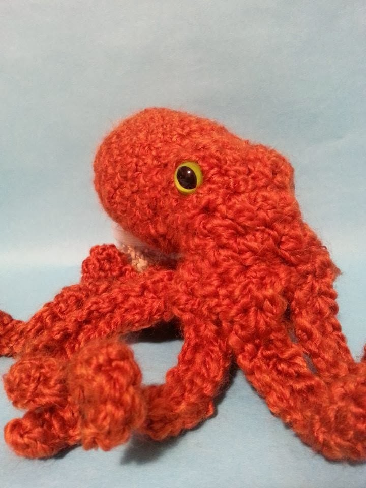 Octopus Pattern Crochet Pacific Octopus Pattern