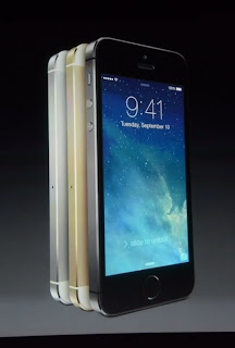 Apple unveils the premium iPhone 5S