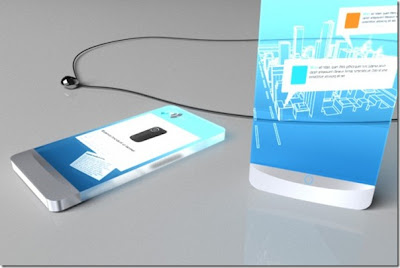 Concept Sketches Future Mobile Device, latest technology, mobile device
