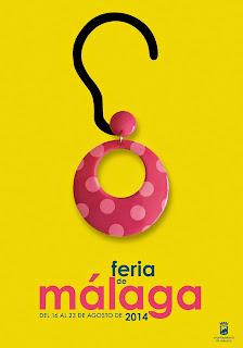 Málaga - Feria 2014 - Cartel de Abel Rocha Ramírez