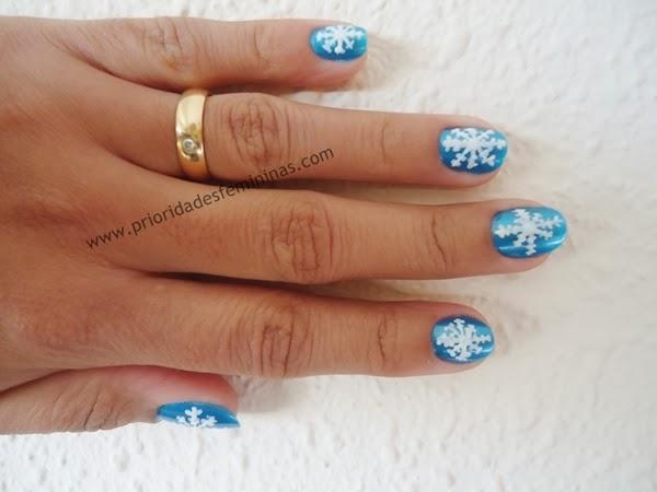 nail art natal, unhas para natal