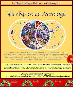 Taller Básico Intensivo de Astrología 14 y 15 de marzo 2015 en Santiago